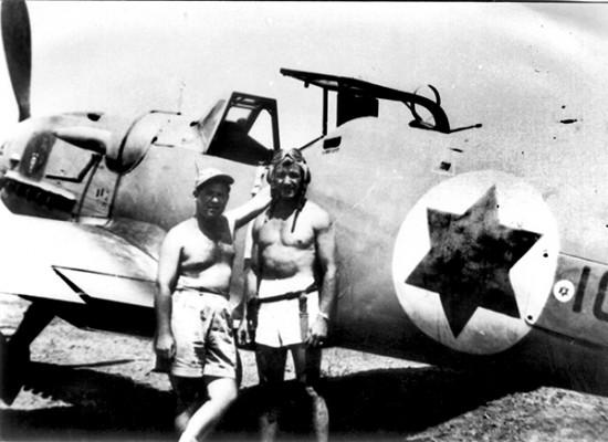 Pilotos de la WII de formaron las IAF