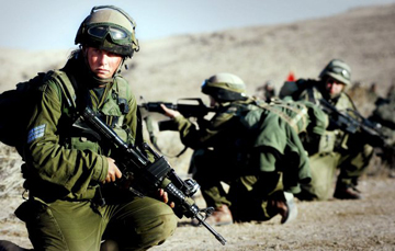 epa01173078 A photograph handed out by the Israeli Defense Forces (IDF) on 14 November 2007 shows Israeli women in infantry combat training of the Karkal Battalion, which is a fighting unit of both men and women. EPA/YONI MARKOVITZKI EDITORIAL USE ONLY