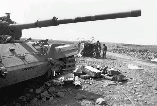 Sucot IDF Guerra de Yom Kipur 1973-3
