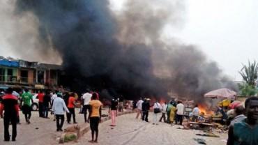 Ataque terrorista de 4 mujeres bomba en Nigeria