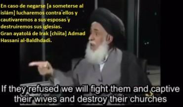 ayatolá Ahmad Hassani al-baghdadi-on-islam
