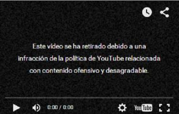 Censura de YouTube