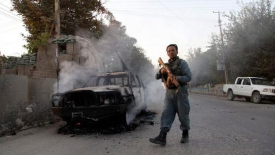 Kunduz guerra Taliban-Afganistán
