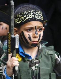 niño yihad islamica