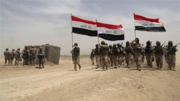 Peshmergas y fuerzas especiales en Irak contra ISIS