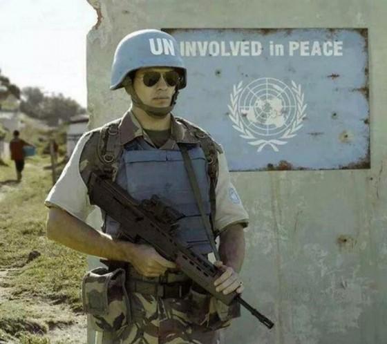 Soldadido de la ONU