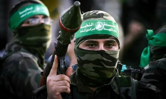 TERRORISTA DE HAMAS EN GAZA