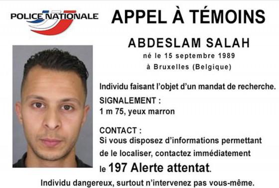 ABDESLAM SALAH FICHA POLICIAL