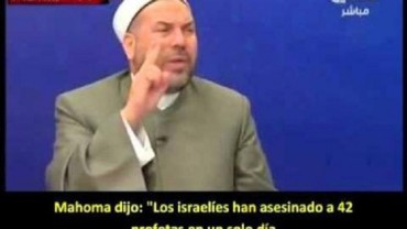 Clerigo palestino se debe auchillar a judios en Tv oficial de Abbas