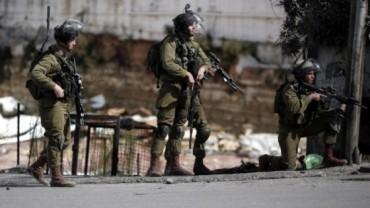 IDF en acción en Hebrón