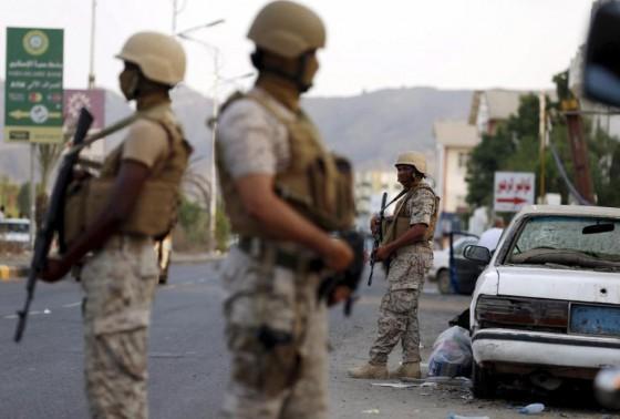 Mercenarios colombianos en Yemen