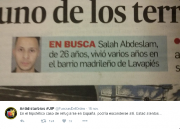 SALAH VIVIO EN LAVAPIÉS ESPAÑA