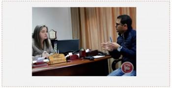 Rula Maayaa, la Ministro palestina de turismo informa sobre el serio daño en la rama del turismo palestino en una entrevista a la agencia Maan. Daño que comenzó con la irrupción del ataque terrorista actual (Maan, 12 de diciembre de 2015)