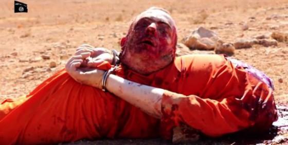 DEGOLLADO POR EL ISIS
