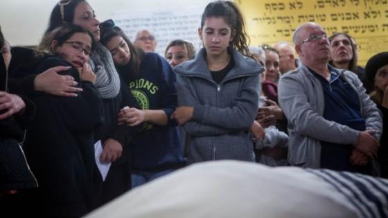 Funeral de Ofer Ben Ari muerto en la Puerta de Jaffa