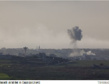 IDF GOLPEA A HAMAS