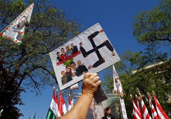 PROTESTAS JUDIAS EN BUDAPEST