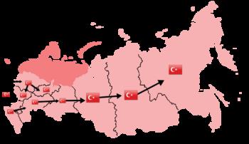 rusia invade turquia