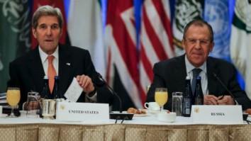 El acuerdo fue impulsado por los cancilleres de EE.UU. y Rusia.
