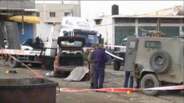 Atentado de atropellamiento contra un IDF