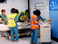 En 72 horas se puede convertir un aparcamiento subterráneo a un hospital en pleno funcionamiento.