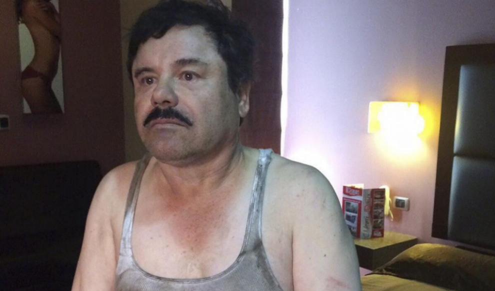 El Chapo echo un guarro