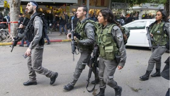 Fuertes medidas de seguridad en el barrio del terrorista de Tel Aviv