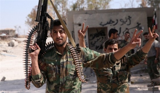 Guerra de Siria cerca del Golan