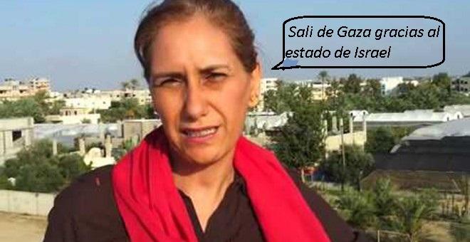 Imagen de Jaldia Abubakra agradecida al estado de Israel