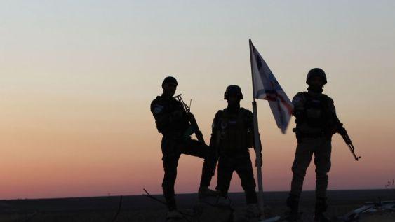 Milicianos de la asiria NFP