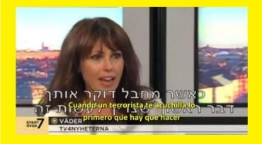 Se burlan en la Tv sueca de su retrograda Ministra de Exteriores