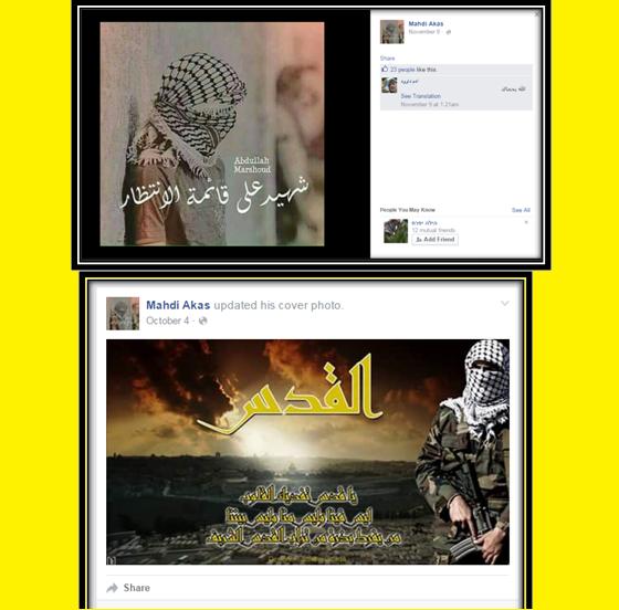 Terrorista avisa en FB de sus intenciones de atentar contra los judíos