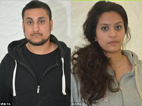 Terroristas masacre en Inglaterra