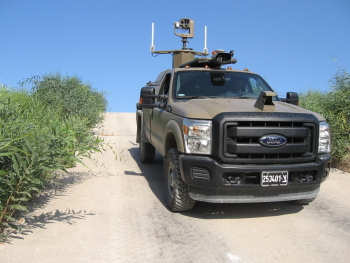 Vehiculo idf no tripulado de vigilancia fronteriza
