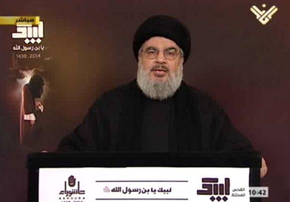 Hasan Nasrallah lider del grupo terrorista Hezbolllah