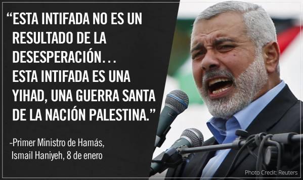 Ismail Haniyeh Primer Ministro de Hamás