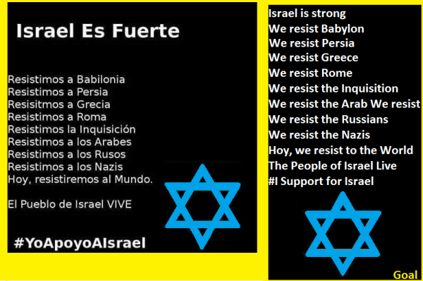 Israel Es Fuerte Banner2