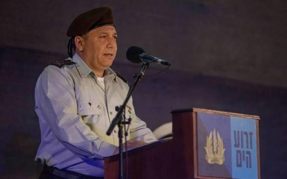 Jefe del Estado Mayor IDF Tte. Gral. Gadi Eisenkot