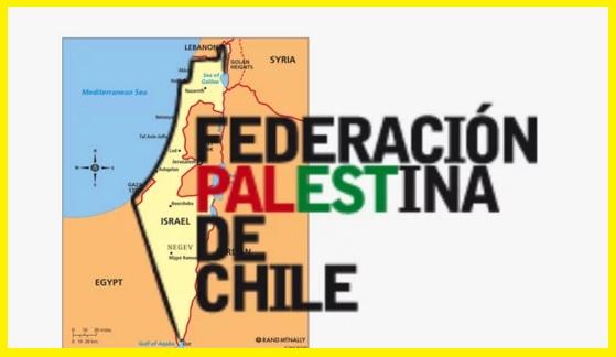 ODIO DE LA FEDERACIÓN PALESTINA DE CHILE