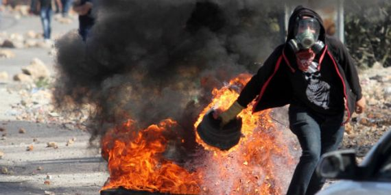 palestinian-terror-riot-fire-protest-silwan-west-bank-