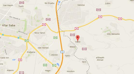 Captura Hable en Judea Samaria