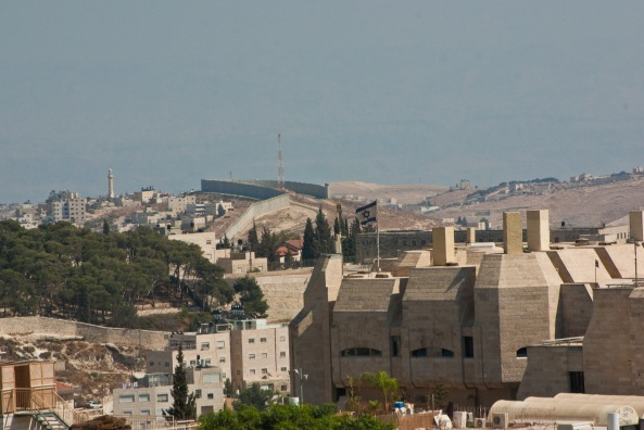 Cerca del Cruce de Gush Etzion en judea-samaria