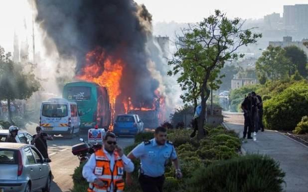 Atentado contra bus en Israel