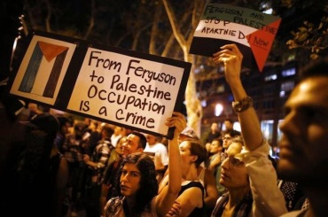 Ferguson-Palestine-Protest-AP