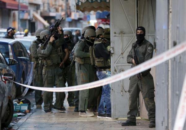 Fuerzas de seguridad israelies