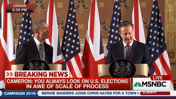 Obama y Cameron