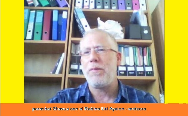 Parasha Metzora con el rabino de Jerusalém Uri Ayalon
