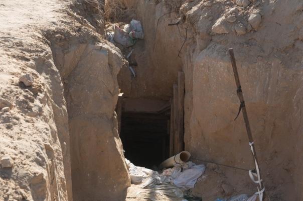 Tunel de Hamas detonado por las idf