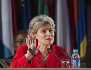 Urina Bokova Directora de la Unesco y zorrasca mayor