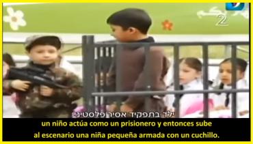 Incitando al terrorismo inculcando el odio a los niños de Gaza por Hamas